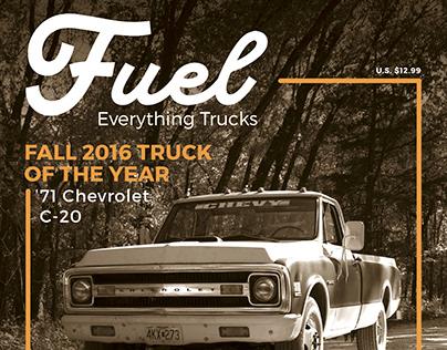 Fuel | Magazine Design