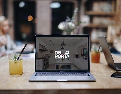Della Porta Construction Website Redesign