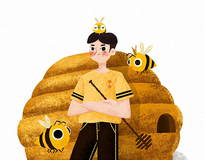 Insect series-Honeybee