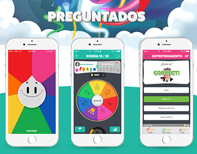 PREGUNTADOS / Diseño UI/UX / Dirección de Arte