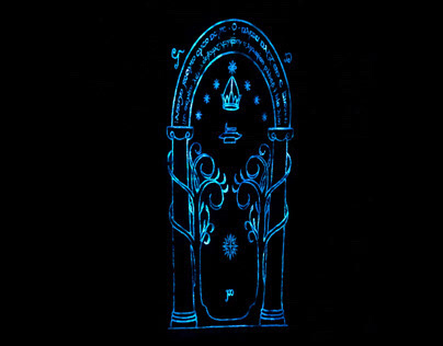 The Doors of Durin (Nightglowing)
