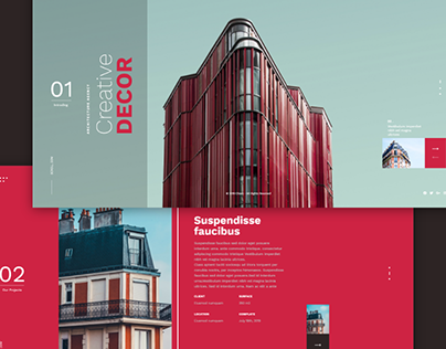 Architecture - Landing Page