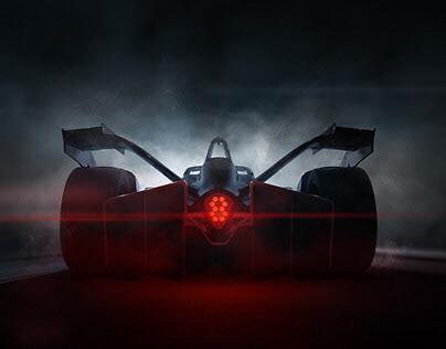 Formula E Keyvisual - Full CGI