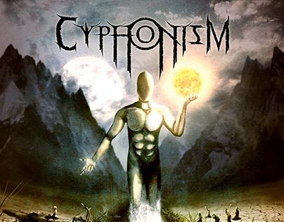 Cyphonism - Obsidian Nothingness - CD Artwork design
