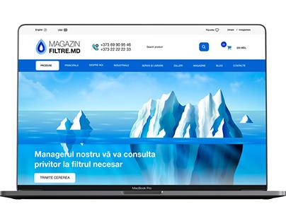 magazin-filtre.md - redesign website