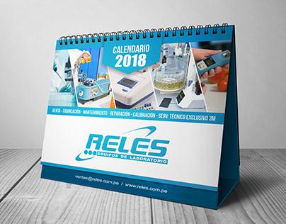 Diseño de Calendario - RELES
