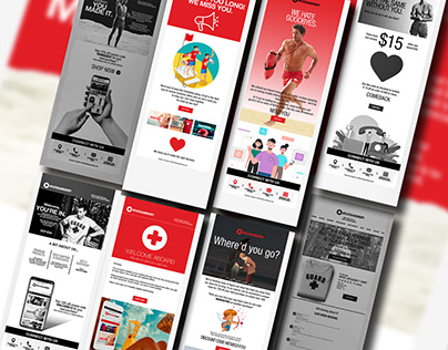 Lifeguard Brand Mail Designs