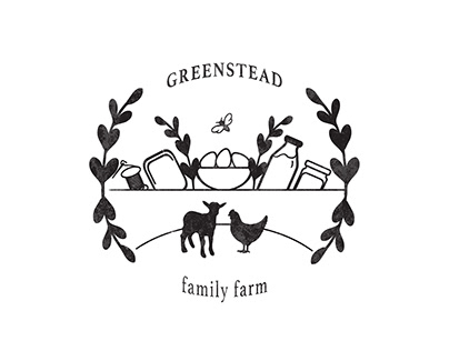 Green Stead Family Farm Logo