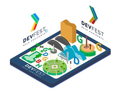 DevFest BH 2017 Brand