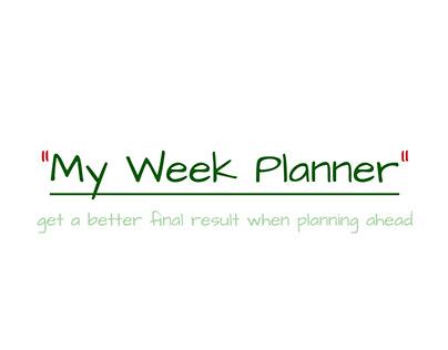 My Week Planner