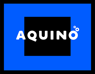 Aquino - A free water themed font