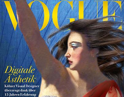 free art work: Vogue Cover as photohop composing