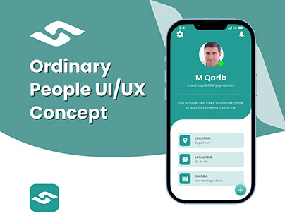 Ordinary People UI/UXConcept