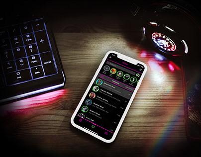 MashSpace // messenger app