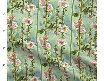 Fabric and textiles by Alexandra Cook aka Linandara