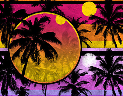 Palm Tree Motiffs by K. Fairbanks