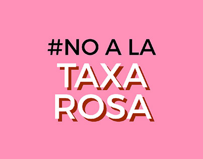 Campaign against Pink Tax - Visual Identity
