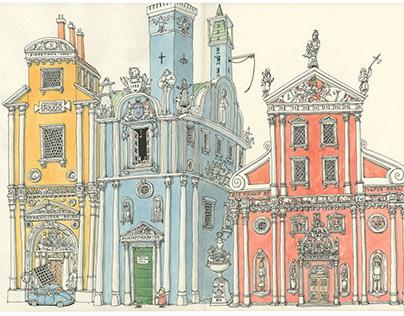 Baroque sketches Autumn 2021