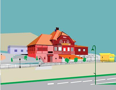 House IIllustration