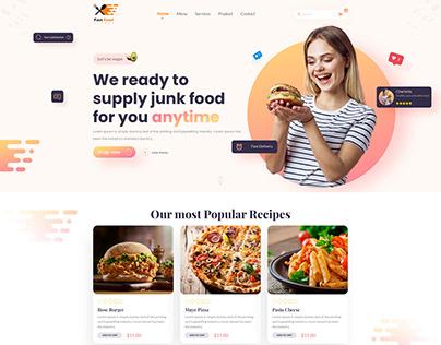 junk Food Website