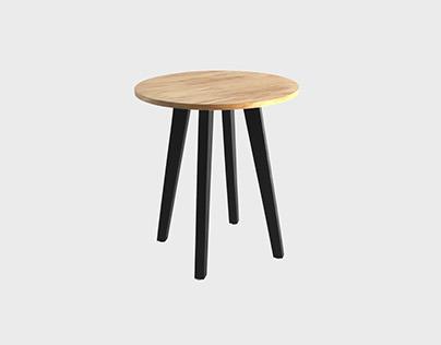 Aria Side Table Oak