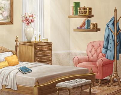 Backgrounds @ Visual Novel