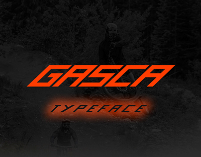 Gasca Typeface - Extreme Font
