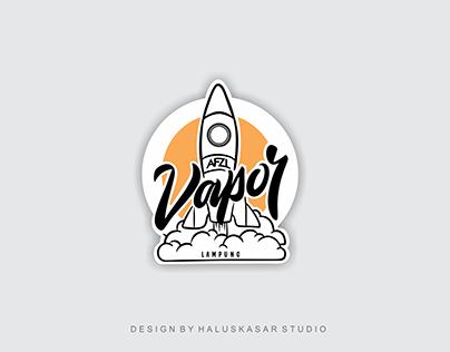 AFZL Vapor Logo Design