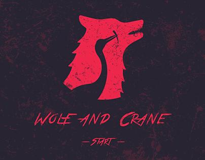 Wolf and Crane