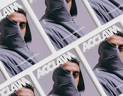 Acclaim Mock Up – Photography & Layout Design