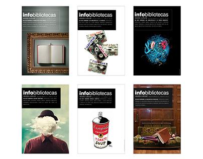 Diseñoy maquetación revista Infobibliotecas