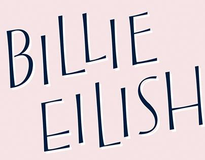 Letras Dibujadas Billie