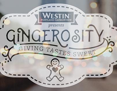 Gingerosity Event