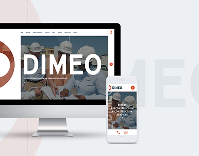 Dimeo / UI Web Design