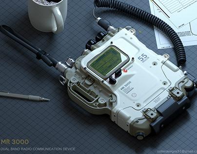 MR. 3000 Dual Band radio