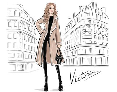 Advertising illustration