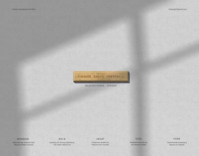 Undergraduate Interior Design Portfolio
