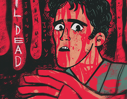 Alternative Horror Movie Posters: Illustrated