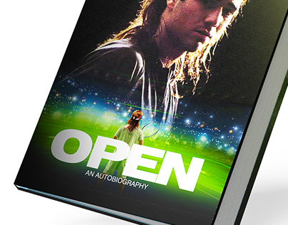 Book Cover Design : Andre Agassi - OPEN