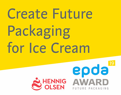 "Create Future Packaging for Ice Cream ""65+"""