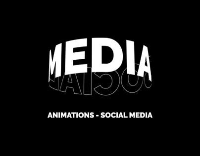 Kinetic Typography - Social Media