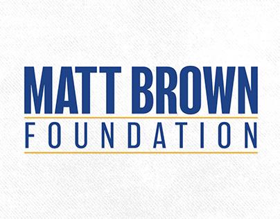 Matt Brown Foundation Logo