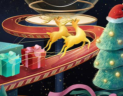 TMALL Christmas Poster