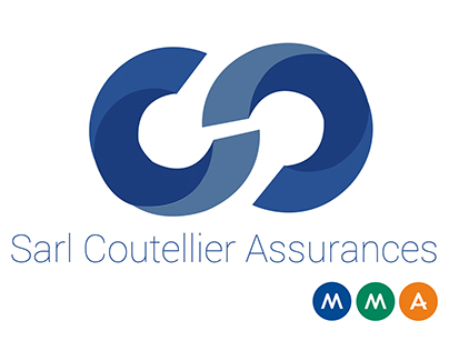 Visual identity SARL Coutellier Assurances