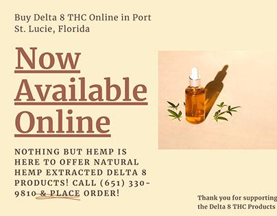 Shop Online Delta 8 THC In Port St. Lucie, Florida
