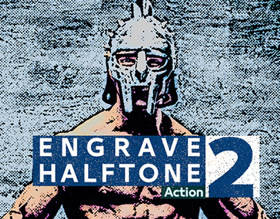 Engrave Halftone Action 2