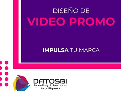 DATOSBI Diseño de video promocional
