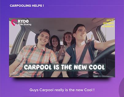 Rydo Ridesharing Posters