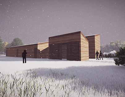 Architecture Visualization|Kemeri National Park