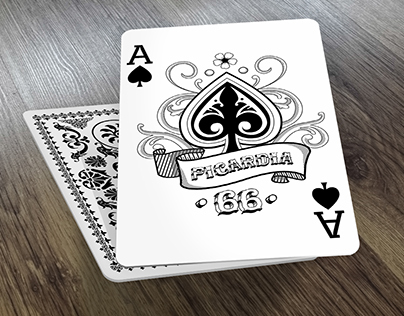Diseño de Carta de poker